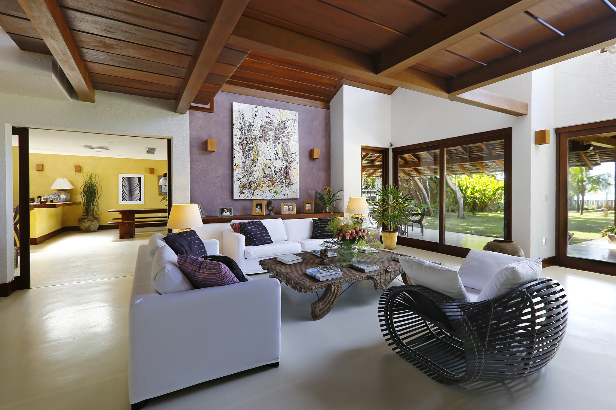 Aluguel casa de luxoArraial D'ajuda Villa 01